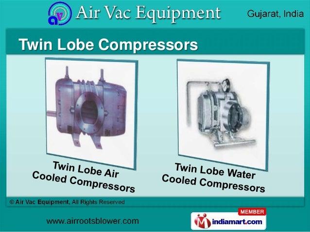 Twin Lobe Compressors