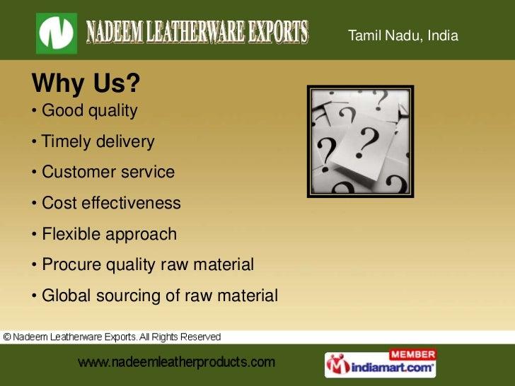 Mens Gloves by Nadeem Leatherware Exports Chennai Slide 3