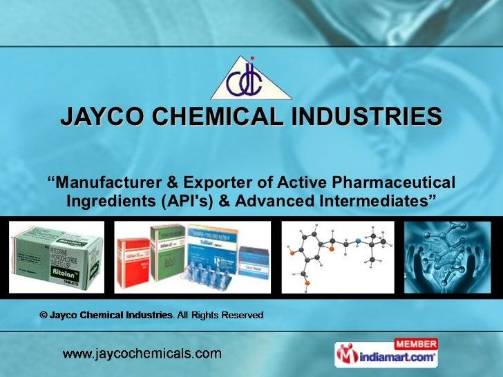 Jayco Chemical Industries Maharashtra India