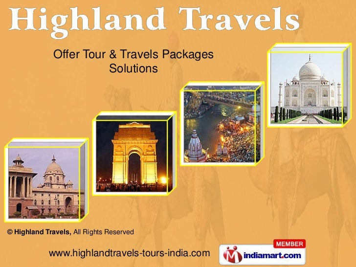Offer Tour & Travels Packages <br />Solutions<br />