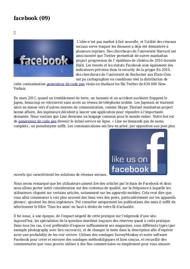 facebook (09)  L'idée n'est pas market à fait nouvelle, et l'utilité des réseaux sociaux serve traquer les diseases a déj...