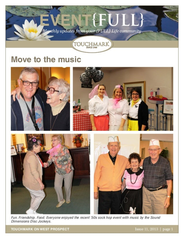 EVENT{FULL} Monthly updates from your {FULL} Life community  Move to the music  Fun. Friendship. Food. Everyone enjoyed th...
