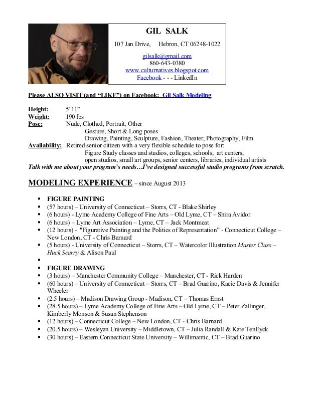 MODELING RESUME Experience
