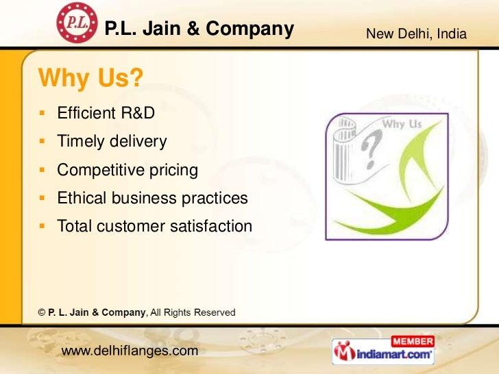 Metal Flanges by P. L. Jain & Company, New Delhi  Slide 3