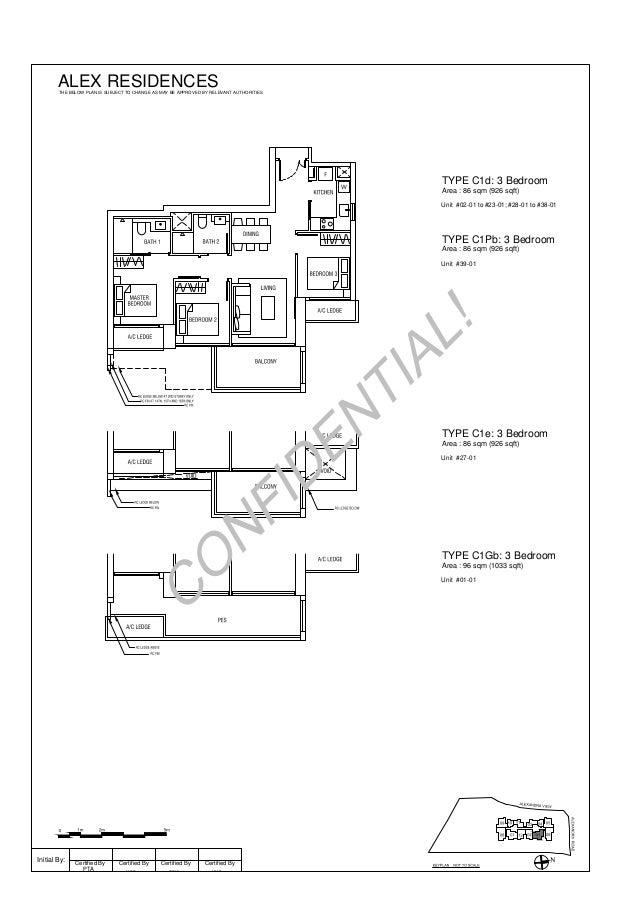 Alex Residences Floor Plan Draft Newlaunch Com Sg