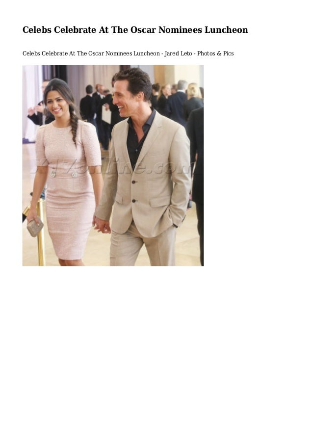 Celebs Celebrate At The Oscar Nominees Luncheon Celebs Celebrate At The Oscar Nominees Luncheon - Jared Leto - Photos & Pi...