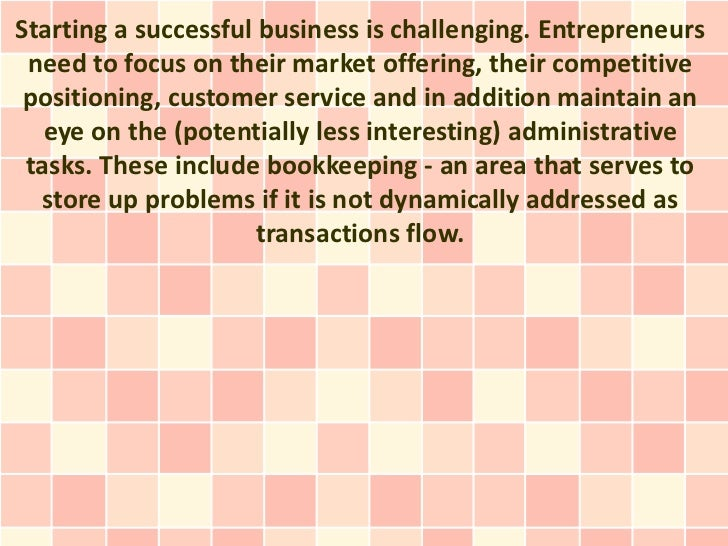 Starting a successful business is challenging. Entrepreneurs need to focus on their market offering, their competitive pos...