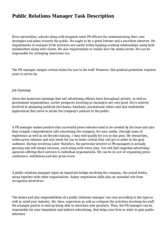 publicrelationsmanagertaskdescription1638jpgcb 1392579122 – Public Relations Job Description