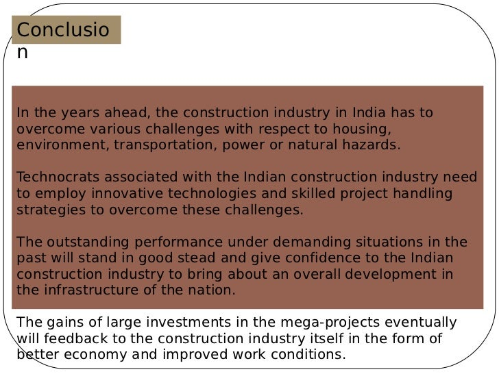 swot analysis on construction industry Construction law firm with staff members who are trained in both law and  the swot analysis is a  swot can also prompt businesses to examine and.