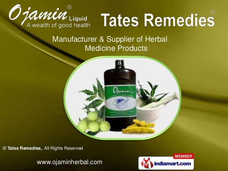 Manufacturer & Supplier of Herbal                              Medicine Products© Tates Remedies, All Rights Reserved     ...