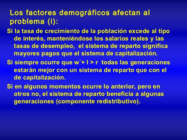 Si se fija tanto el nivel de cotizaciones como  de pensiones el Déficit del sistema de  pensiones será:              D t =...