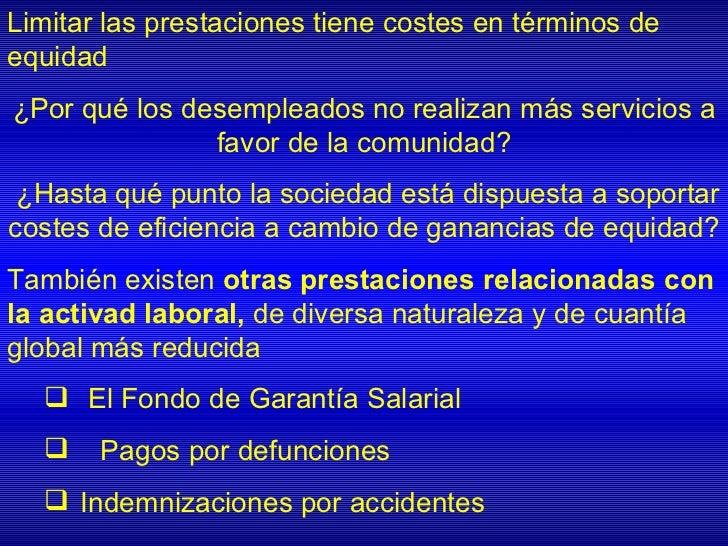 A. Programas de mínimosgarantizadosMecanismo sencillo (mínimo de renta garantizado enfunción de la composición de la famil...