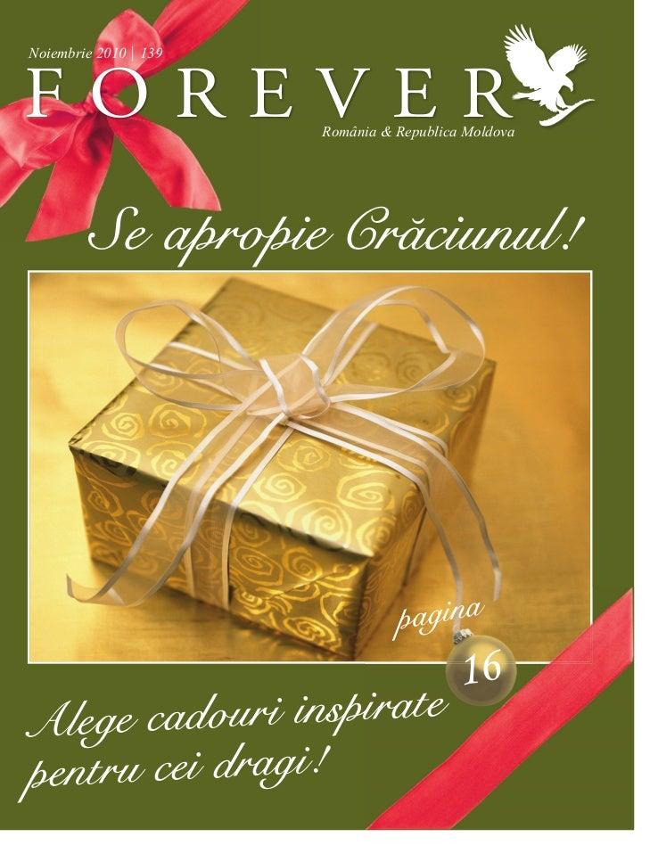 Noiembrie 2010   139                       România & Republica Moldova       Se apropie Crăciunul!                        ...