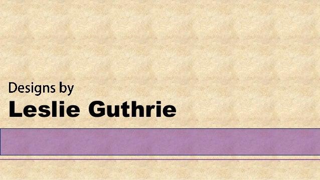 Leslie Guthrie