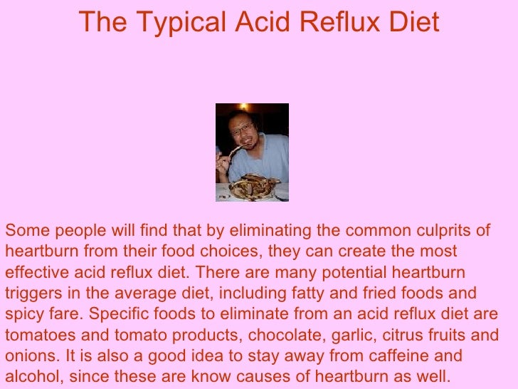 An Acid Reflux Diet that will Keep Symptoms at Bay