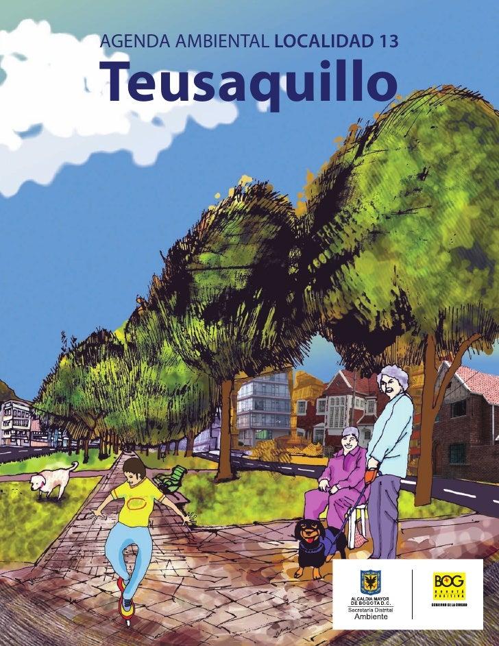 AGENDA AMBIENTAL LOCALIDAD 13  Teusaquillo