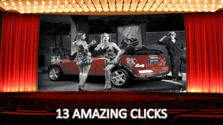 13 AMAZING CLICKS<br />