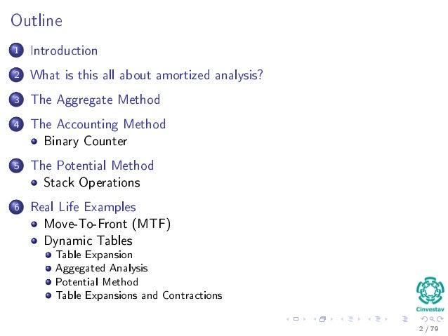 13 amortized analysis