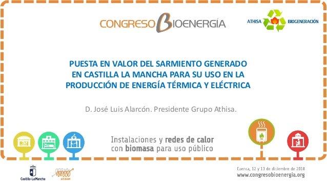 PUESTA'EN'VALOR'DEL'SARMIENTO'GENERADO' EN'CASTILLA'LA'MANCHA'PARA'SU'USO'EN'LA' PRODUCCIÓN'DE'ENERGÍA'TÉRMICA'Y'ELÉCTRICA...