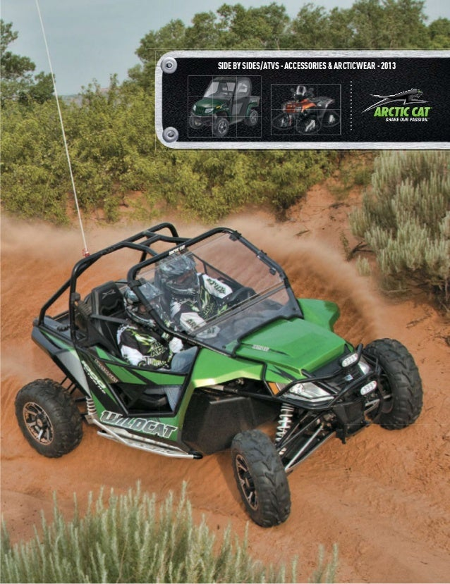 SIDE BY SIDES/ATVS - ACCESSORIES & ARCTICWEAR - 2013