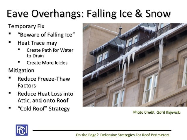 On The Edge Defensive Strategies For Roof Perimeters