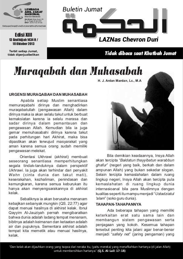 LEMBAGA AMIL ZAKAT NASIONAL  Buletin Jumat  Chevron Indonesia Akta Notaris Wahyu Nurani, SH. No. 34 Tanggal 28 April 2008 ...