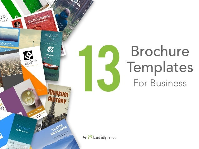 Best Brochure Templates For Business - Best brochure templates