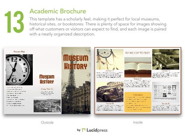 13 Best Brochure Templates For Business