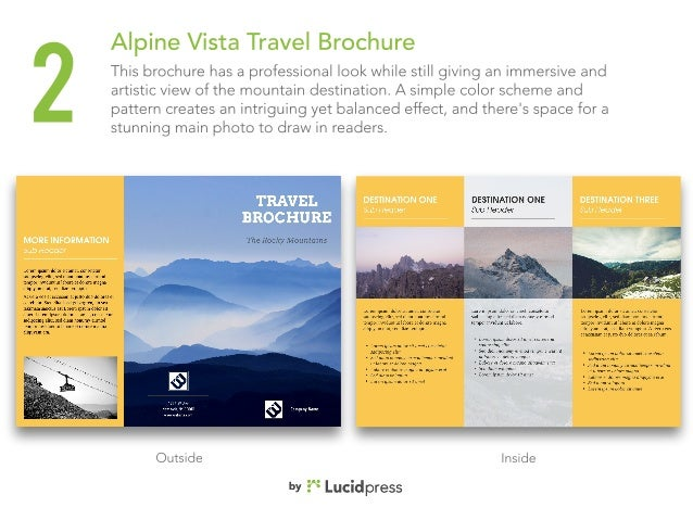 best travel brochures