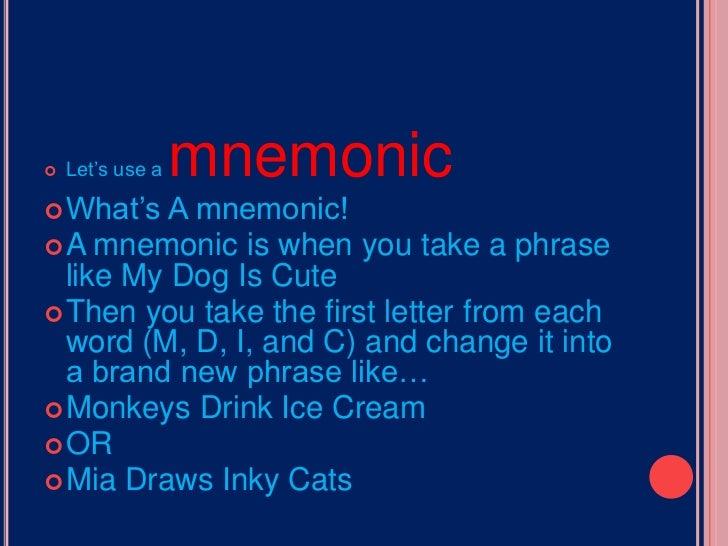 13 Colonies Mnemonic