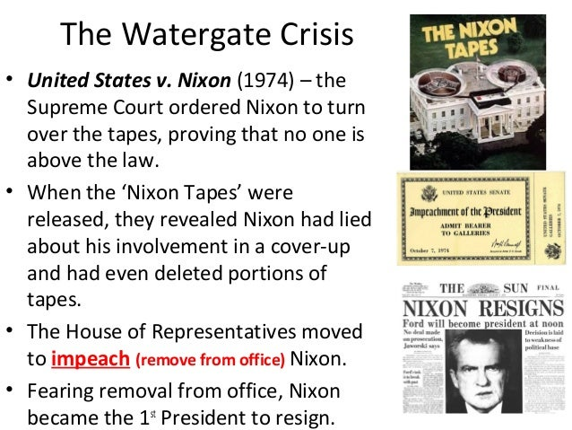 the effect of the watergate scandal to the government of the united states The watergate scandal resulted in 69 government officials being charged and 48 being found guilty including john n mitchell- attorney general of the united states, convicted of perjury jeb stuart magruder- head of creep, pled guilty to conspiracy.
