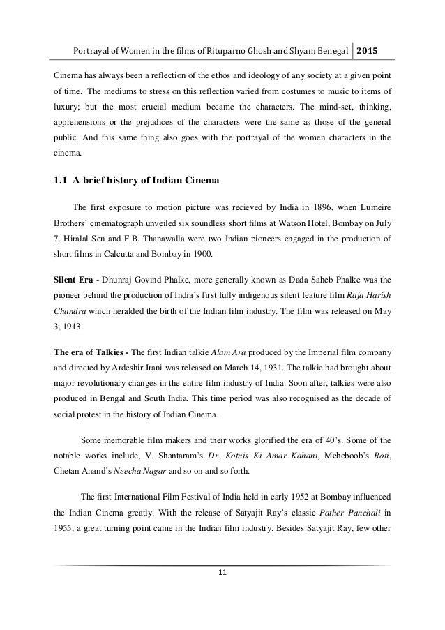 dissertation topics indian cinema