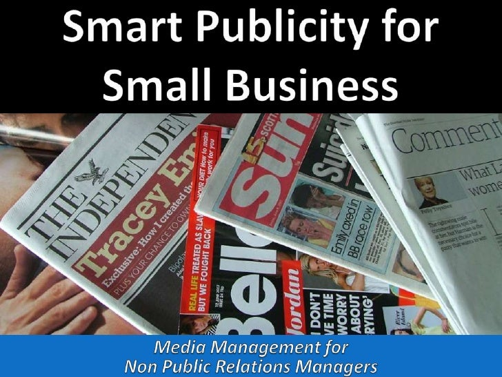 Smart Publicity for Small Business