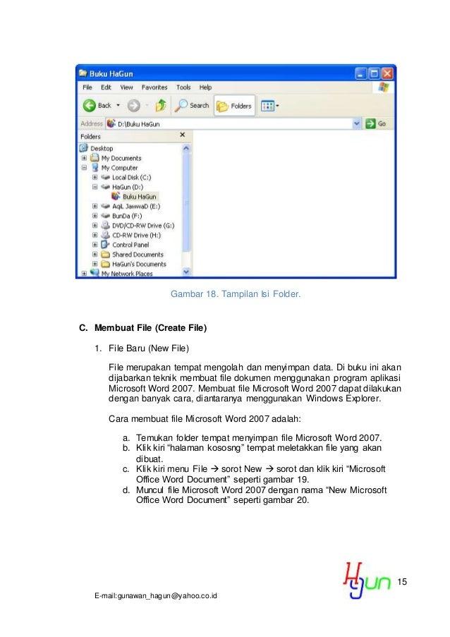 cara membuat halaman di microsoft word 2010