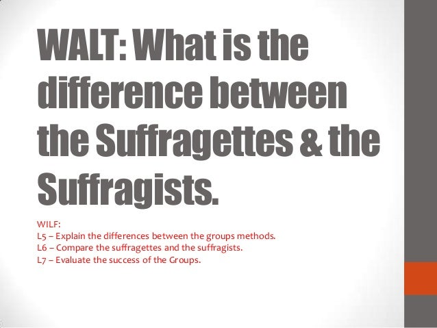 913 - Suffragettes and Suffragists Slide 2