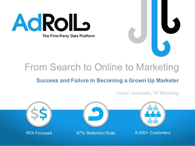 8,000+ Customers97% Retention Rate The First-Party Data Platform! ROI Focused $$ From Search to Online to Marketing Succes...