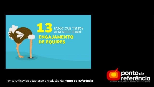 13 FATOS PERTURBADORES SOBRE ENGAJAMENTO DE EQUIPE