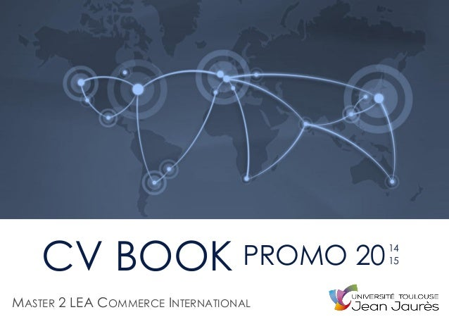 CV BOOK MASTER 2 LEA COMMERCE INTERNATIONAL PROMO 2014 15