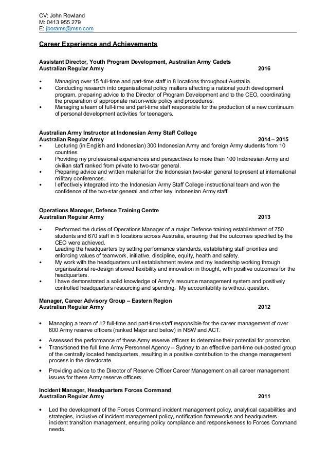 john rowland resume