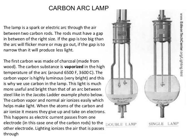 Unique Carbon Arc Street Lamp