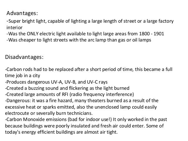 Lighting ionizes the air that is passes through CARBON ARC LAMP; 14.  sc 1 st  SlideShare & ELECTRICAL LAMPS AND THEIR TYPES