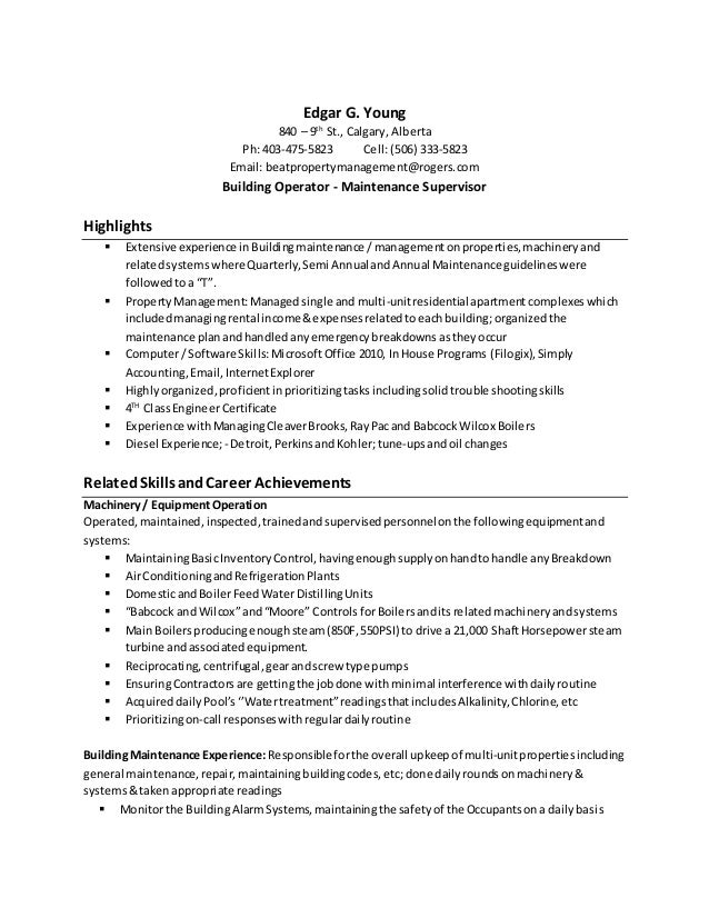 young resume including cover letter calgary march 2015