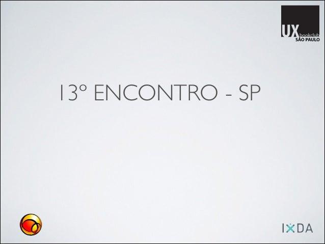 13º ENCONTRO - SP