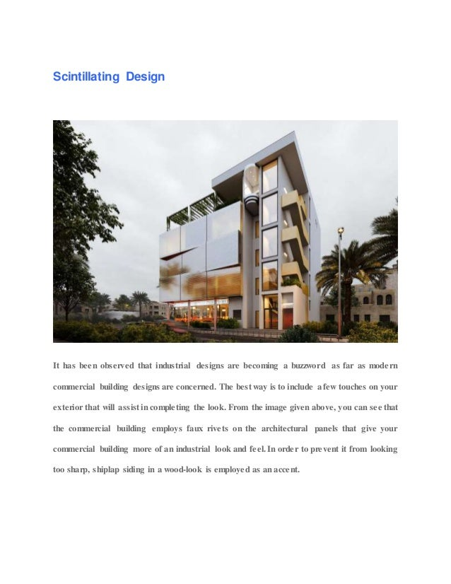 13 exclusive modern commercial building design ideas 2019