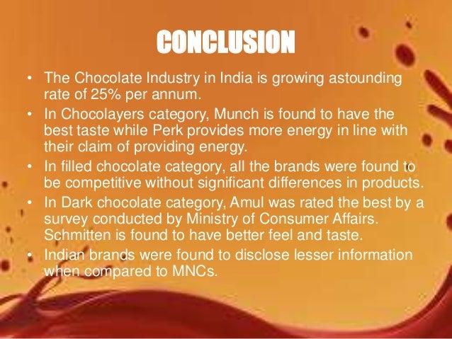Market Survey On Chocolates India
