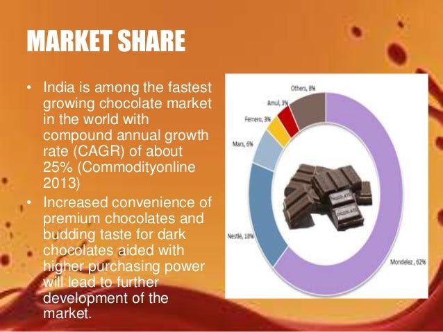 the indian chocolate packaging industry With cadbury as the most known and loved brand by the indian population, the other key players of the chocolate industry in india are nestle sa, mars foods, ferrero.