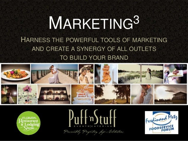 HARNESS THE POWERFUL TOOLS OF MARKETING AND CREATE A SYNERGY OF ALL OUTLETS TO BUILD YOUR BRAND MARKETING3