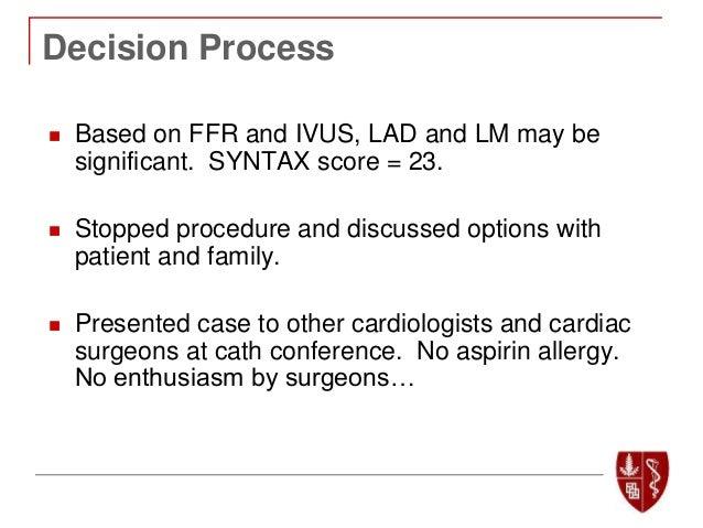 PCI & AimRadial 2018 | FFR in Left Main Disease - William F