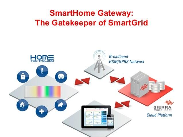 1SmartHome Gateway:The Gatekeeper of SmartGrid