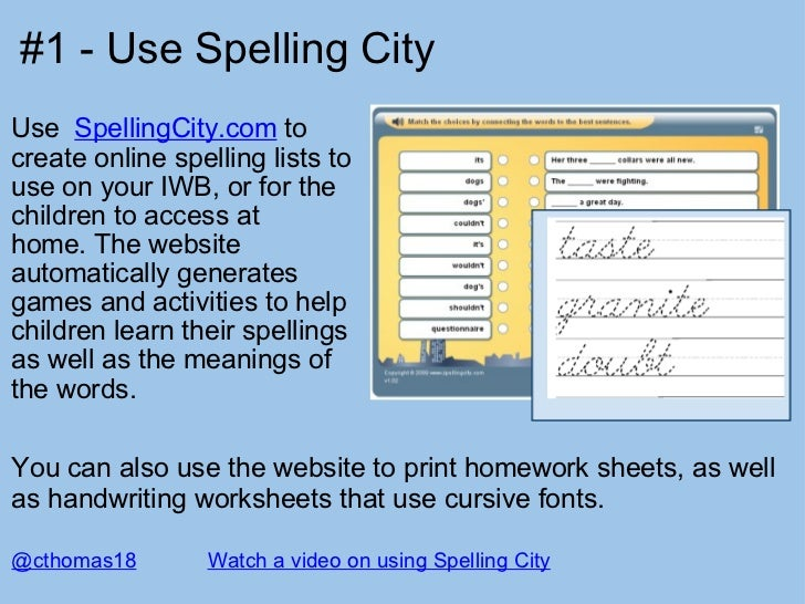 13 interesting ways to support spelling in the classroom. Black Bedroom Furniture Sets. Home Design Ideas